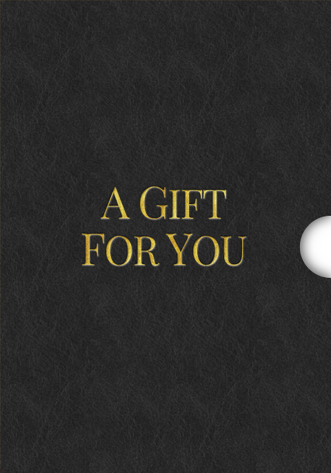 A Gift for You Classic Custom Gift Card Design for Shopify Stores