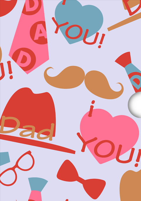 Fathers Day Gift Card Design for Shopify